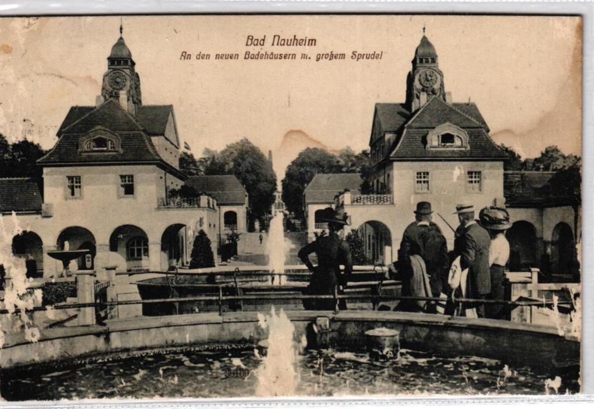 Bad Nauheim ....alte Karte    (ke6871  ) siehe scan 0