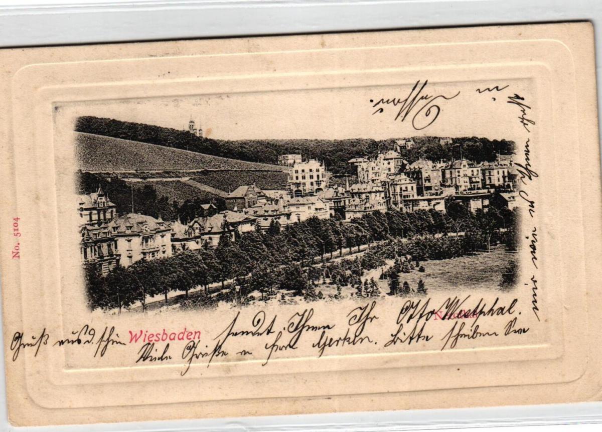 Wiesbaden ....alte Karte    (ke6859  ) siehe scan 0