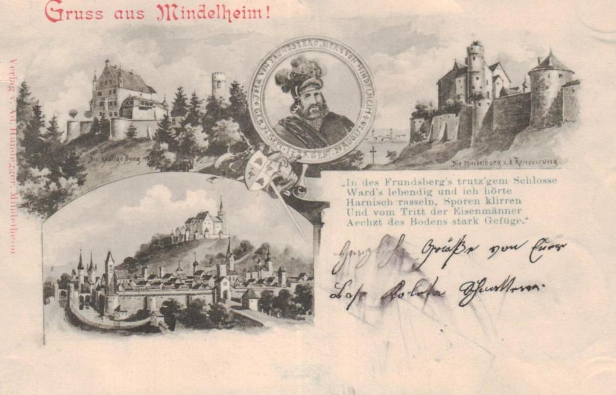 Mindelheim.....  alte Karte   (ke8615  ) siehe scan 0