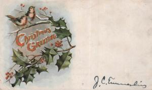 Christmas Greeting ....  alte Karte   (ke8635  ) siehe scan