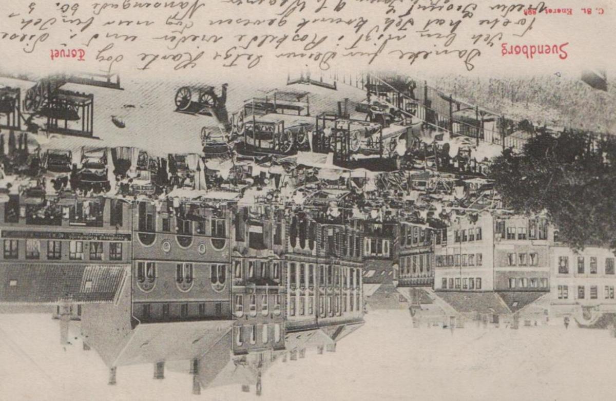 Svendborg ...  alte Karte   (ke8639  ) siehe scan 0