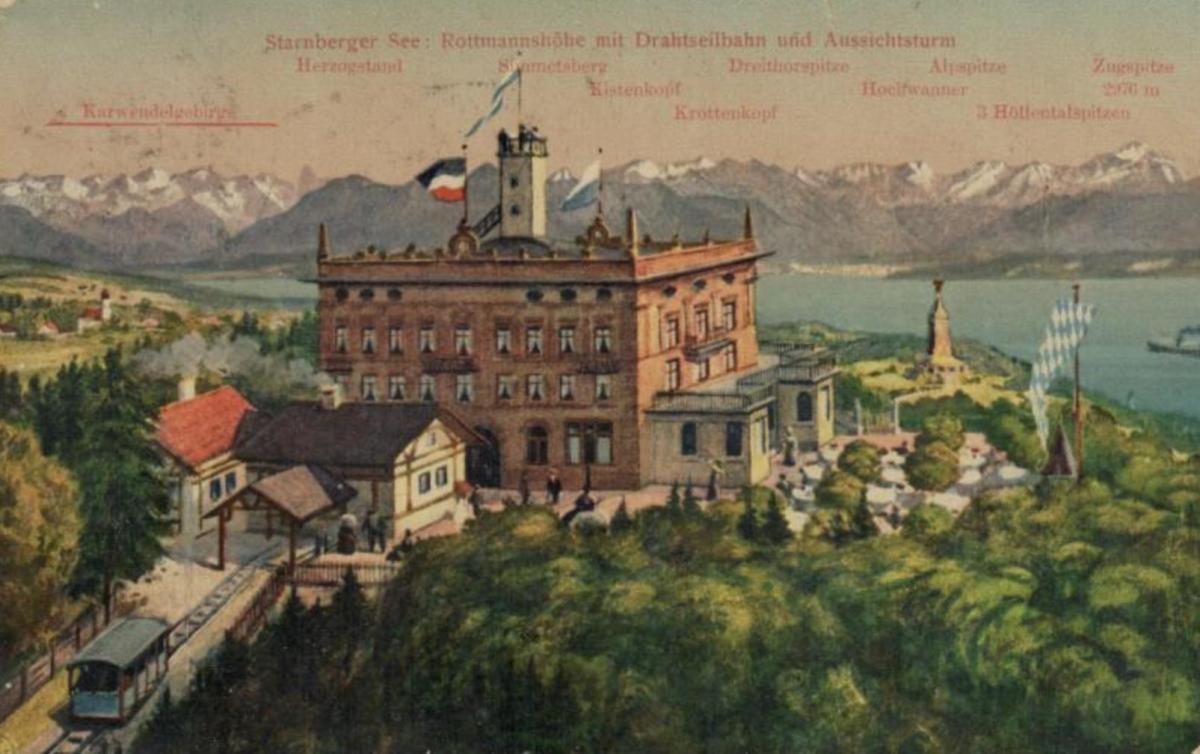 am Starnberger See .....alte Karte (ke8705 ) siehe scan 0
