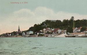 Lauenburg....alte Karte (ke8733 ) siehe scan