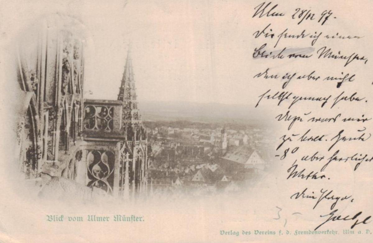 Ulm....alte Karte (ke8751 ) siehe scan 0