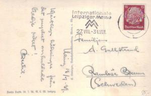 DR.-   alte Karte  in das Ausland    (ka6613  ) siehe scan