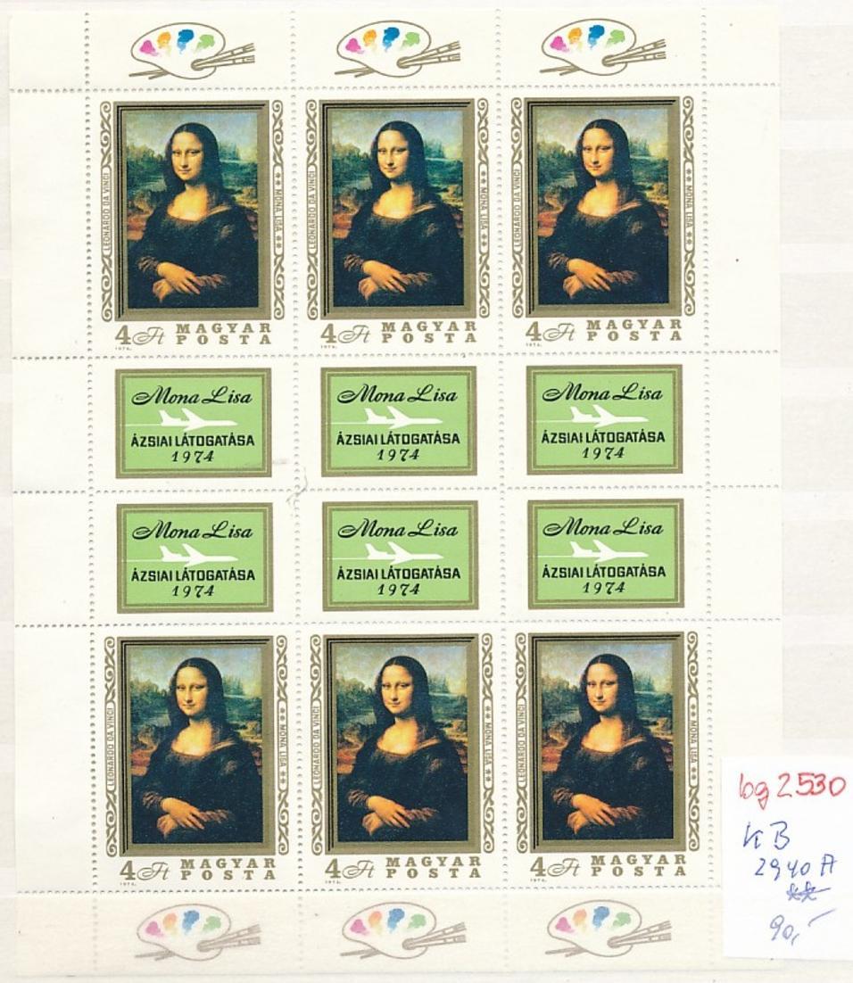 Ungarn Bogen Nr. 2940 A    **   (bg2530  ) siehe scan 0