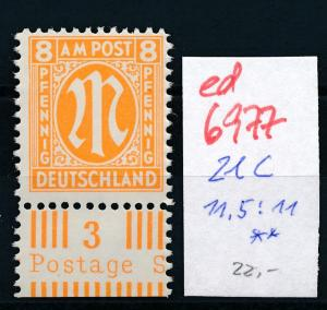 Brit.Zone   Nr. 21 C    **  (ed6977  ) siehe scan