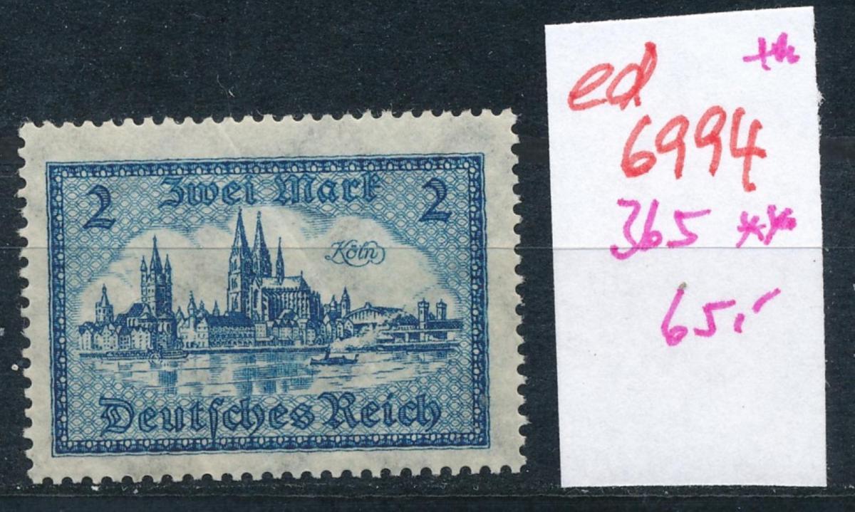 D.-Reich  Nr. 365     **  (ed6994  ) siehe scan 0