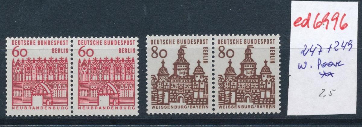Berlin 2 Paare   ** (ed6996  ) siehe scan 0