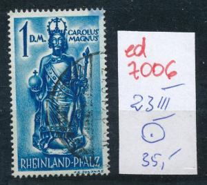 Fr.Zone  Nr. 23 III o  (ed7006  ) siehe scan
