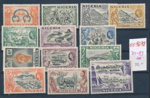 Nigeria Nr. 71-83 **  (oo9698  ) siehe scan