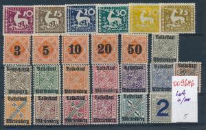 Würtemberg   Lot.........  (oo9686  ) siehe scan