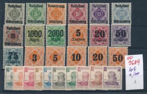 Würtemberg   Lot.........  (oo9689  ) siehe scan