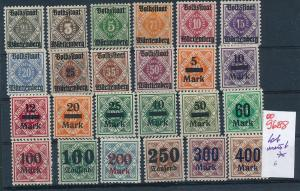 Würtemberg   Lot.........  (oo9688  ) siehe scan