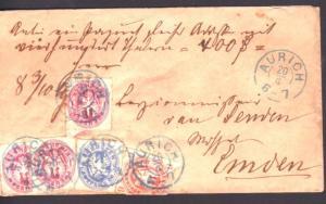 Preussen 3 Farben Brief  bitte lesen (pp1 ) siehe scan