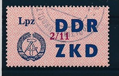 DDR ZKD Nr.  39 XI   amtlich ungültig gestempelt  (f9184  ) siehe scan  ! 0
