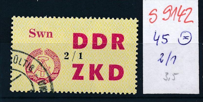 DDR ZKD  Nr. 45  2/1         o  (s9142   ) siehe scan.... 0