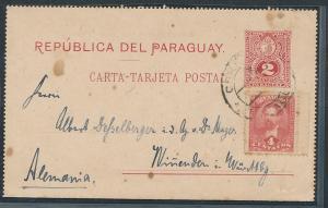 Paraguay  alte Ganzsache..    (oo9628  ) siehe scan