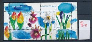 Estland Blumen   **  - Block     (oo9671  ) siehe scan