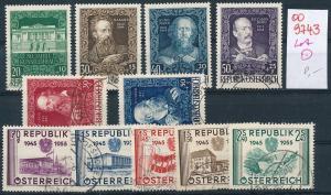 Österreich nettes  Lot            (oo9743  ) siehe scan