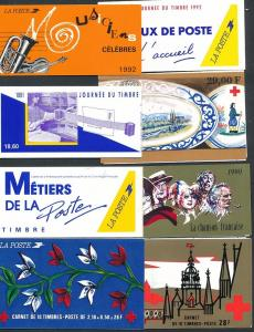 Frankreich Lot 8 Hefte top -o      (oo9775  ) siehe scan