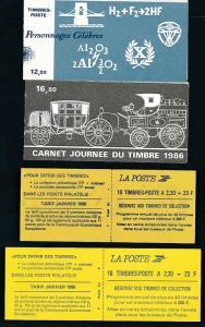 Frankreich Lot 4 Hefte top -o      (oo9773  ) siehe scan