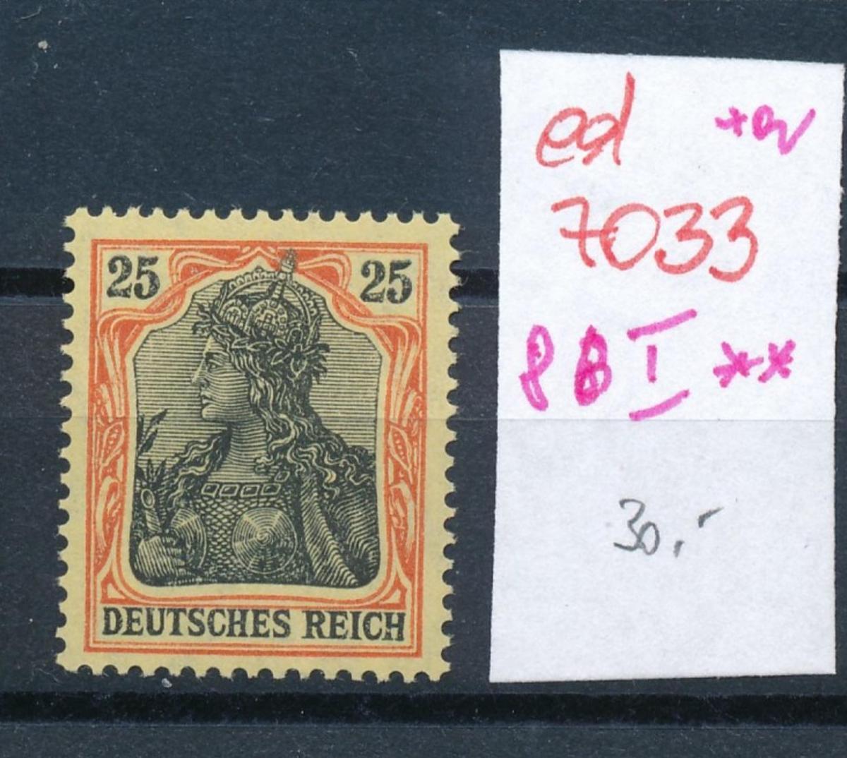 D.-Reich Nr. 86 I    **      (ed7033  ) siehe scan 0