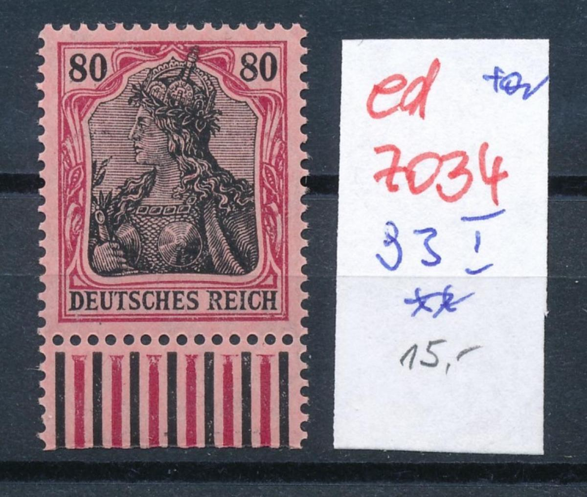 D.-Reich Nr. 93  I    **      (ed7034  ) siehe scan 0
