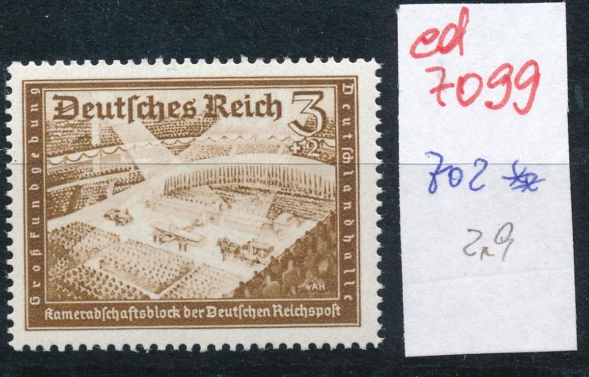 D.-Reich Nr. 702 **..  (ed7099  ) siehe scan 0