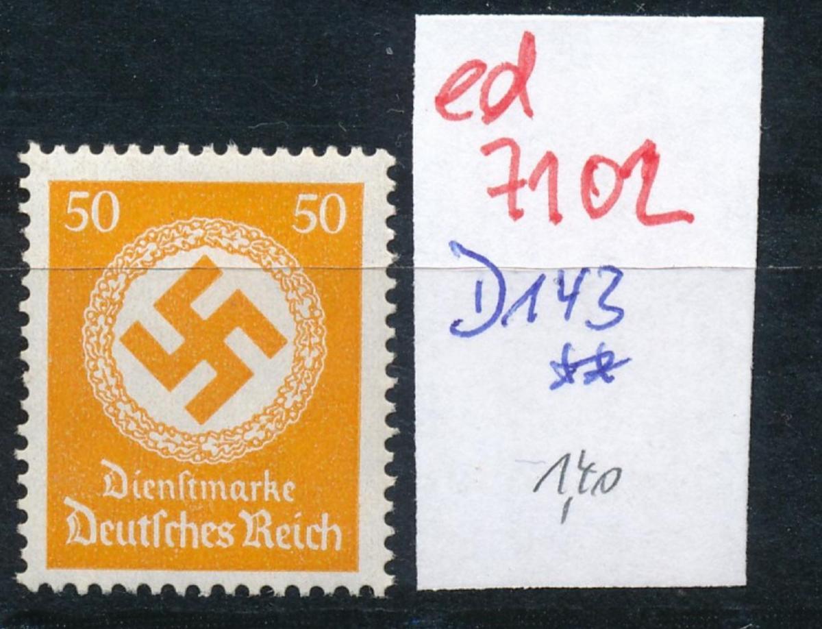 D.-Reich Nr.  D143  **..  (ed7102  ) siehe scan 0