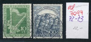 Berlin Nr. 72-73    (ed7094  ) siehe scan