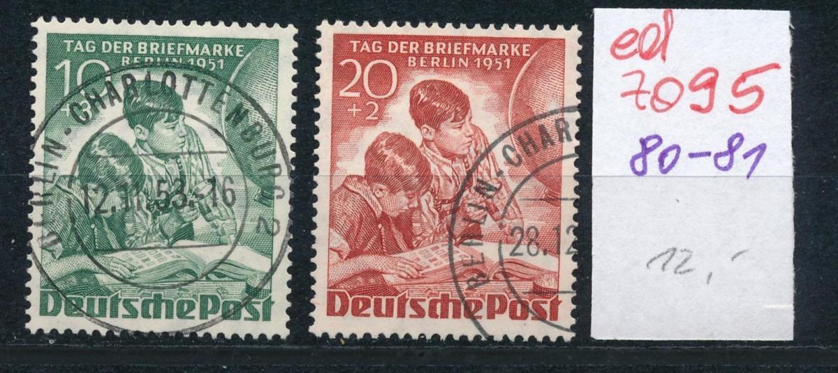 Berlin Nr. 80-81    (ed7095  ) siehe scan 0