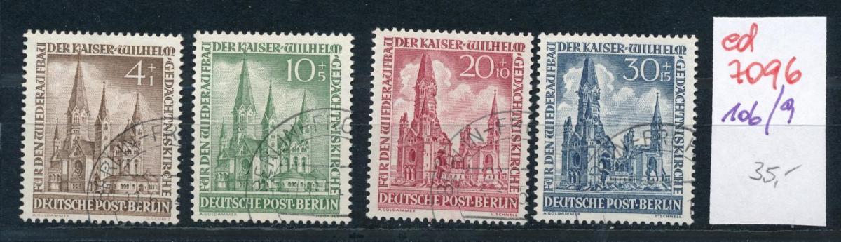 Berlin Nr. 106-9     (ed7096  ) siehe scan 0