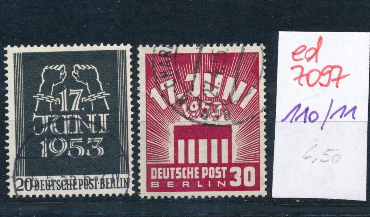 Berlin Nr. 110-11    (ed7097  ) siehe scan 0