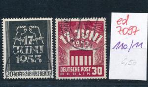 Berlin Nr. 110-11    (ed7097  ) siehe scan