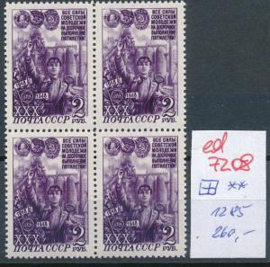 UDSSR  Nr. 4x 1285   **   (ed7208  ) siehe scan