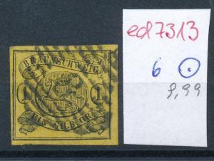 Braunschweig  Nr. 6  o    ( ed7313  ) siehe scan