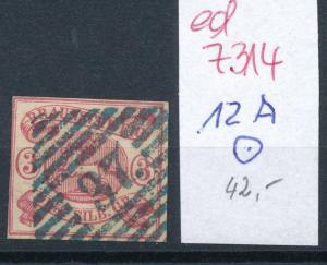 Braunschweig  Nr. 12 A  o    ( ed7314  ) siehe scan