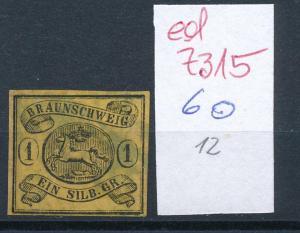 Braunschweig  Nr. 6   o    ( ed7315  ) siehe scan
