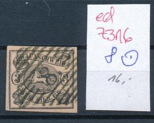 Braunschweig  Nr. 8   o    ( ed7316  ) siehe scan