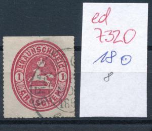Braunschweig  Nr. 18     ( ed7320  ) siehe scan