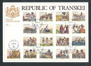 Transkei Blatt 1984 (bg2645  ) siehe scan