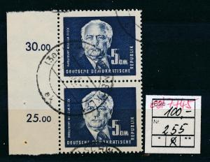 DDR    Nr. 2x 255  o  (ed7745  ) siehe scan
