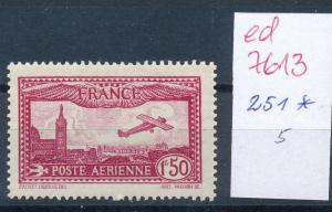 Frankreich Nr. 251  *  (ed7613  ) siehe scan