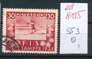 Österreich Nr.  553   sauber    o    (ed8115    ) siehe scan