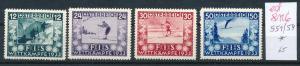 Österreich Nr.  551-54   sauber   *   (ed8116    ) siehe scan