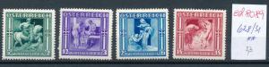 Österreich Nr.  628-31  sauber   **   (ed8089    ) siehe scan