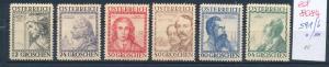 Österreich Nr.  591-6  sauber   **/* (ed8084    ) siehe scan