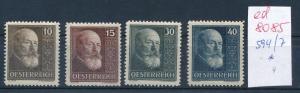 Österreich Nr.  594-7   sauber   * (ed8085    ) siehe scan