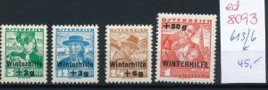Österreich Nr.  613-6    sauber   * (ed8093    ) siehe scan